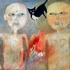 Untitled 35 (man, woman, cat)