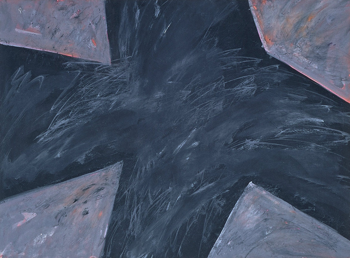 Untitled 81 (black crossroad)