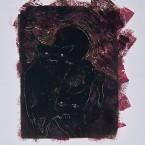 Untitled 99 (dogs, purple)