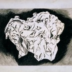 Untitled 141 (crumpled paper, house)