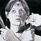 Untitled 142 (cyclops self-portrait)