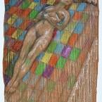 Untitled 144 (nude on blanket)