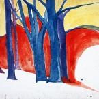 Untitled 149 (blue trees)