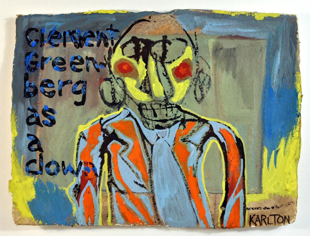 Untitled 9 (Clement Greenberg as a Clown) (NFS)