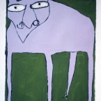 Here Doggie (1986) (sold)