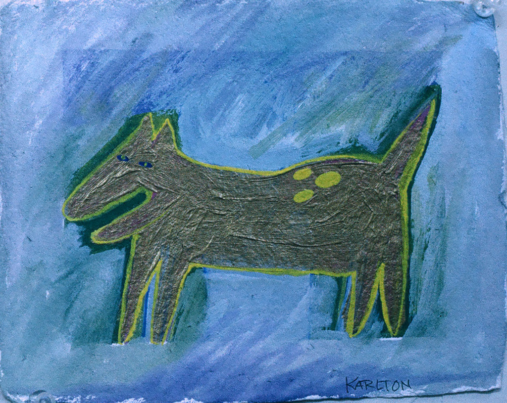 A Dog Called Spot (1991) (sold)