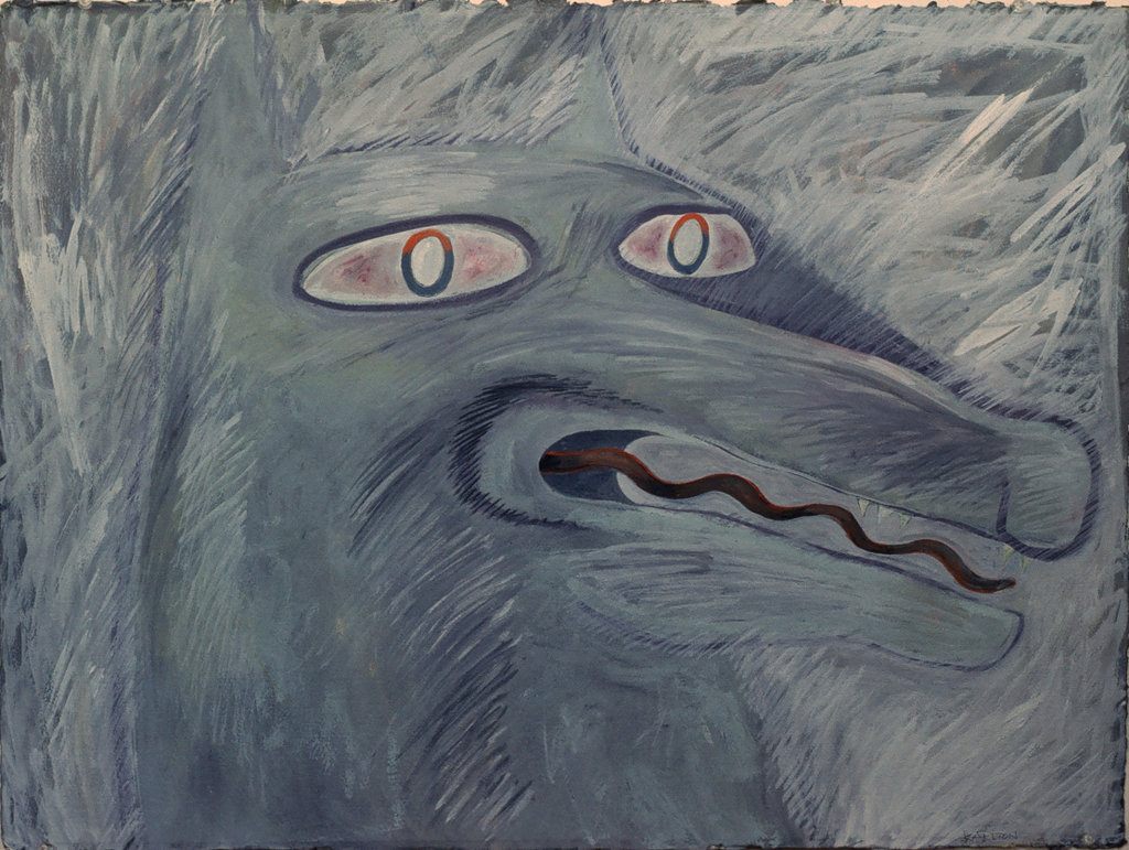 Portrait of the Leader (1991) (sold)